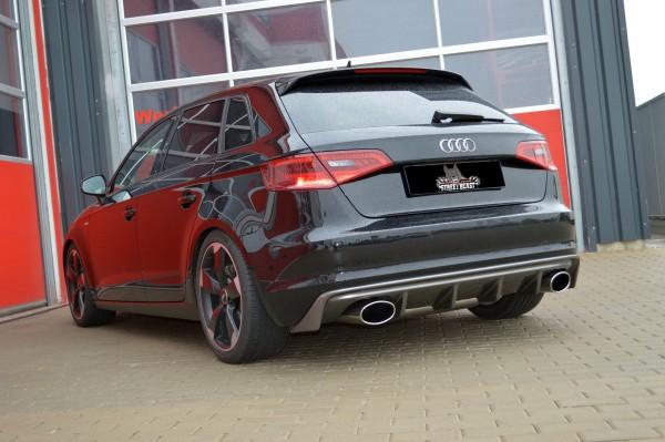 76mm Duplex-Anlage mit Klappensteuerung, Audi A3 8V Sportback Frontantrieb