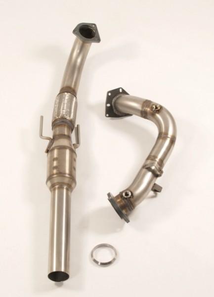 3 Zoll (76mm) Downpipe mit Sport-Kat.