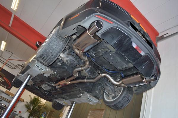 2x76mm Duplex-Anlage mit Klappensteuerung, Ford Mustang VI