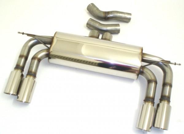 3 Zoll (76mm) Duplex-Sportendschalldämpfer