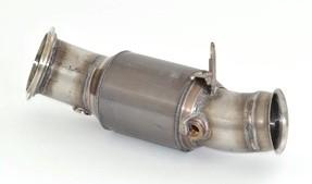 90mm Downpipe mit 200 Zellen HJS Sport-Kat.