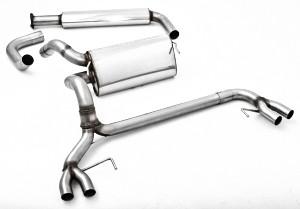 76mm Duplex Abgasanlage Edelstahl ab Kat Astra-J GTC OPC 2.0 Turbo