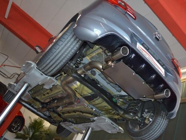 90mm Duplex Abgasanlage für Corsa E OPC