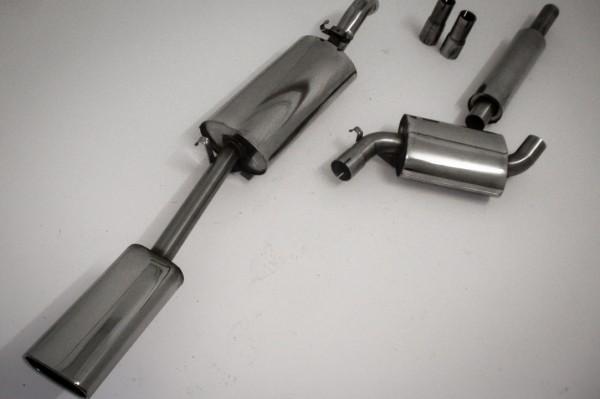 63.5mm Abgasanlage für Seat Toledo 1M