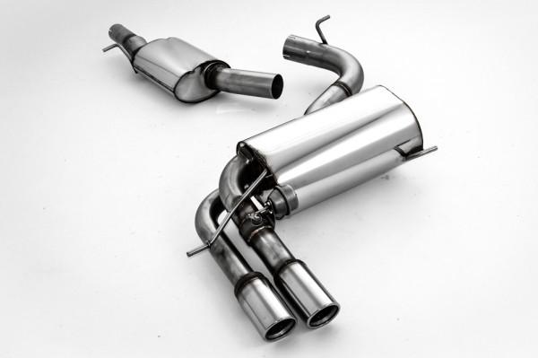 76mm Anlage mit Klappensteuerung für S3 8P 2.0 TFSI