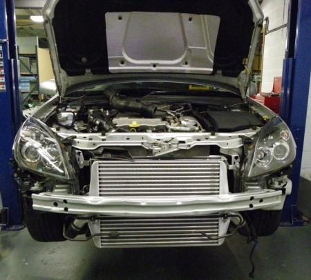 Ladeluftkühler Vectra-C/Signum V6 Turbo