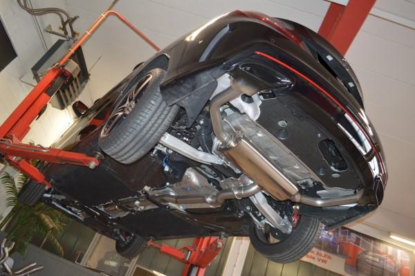 76mm Duplex-Anlage mit Klappensteuerung, Mercedes C117 CLA-Klasse Coupe