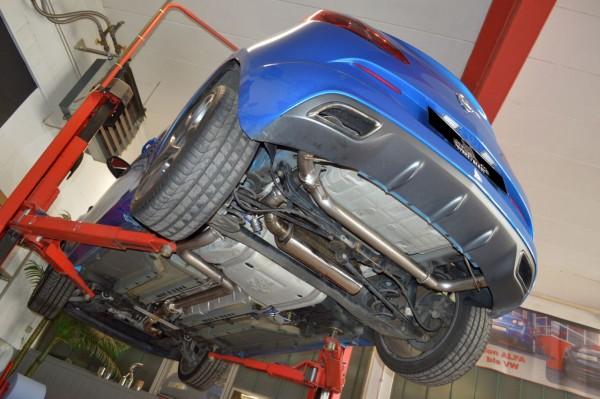 76mm Duplex-Anlage mit Klappensteuerung, Opel Astra J OPC