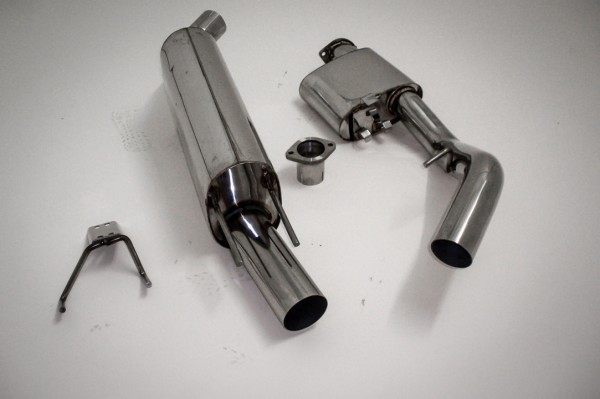 3 Zoll 76mm Abgasnlage für Megane III GT / Coupé