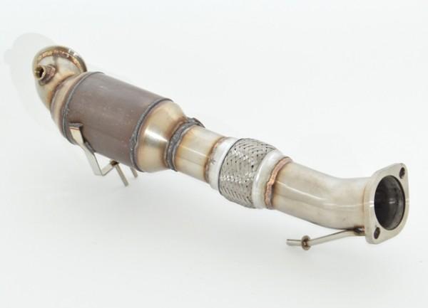76mm Downpipe mit 200 Zellen HJS Sport-Kat.