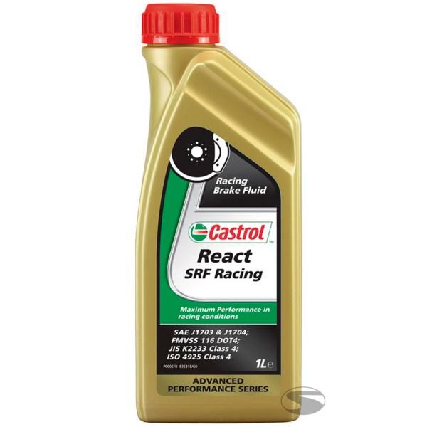 Castrol Bremsflüssigkeit React SRF Racing Brake Fluid (1 Liter)