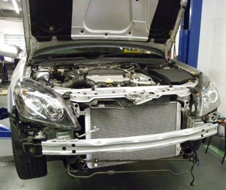 Aluminium Wasserkühler Vectra-C / Signum V6 Turbo